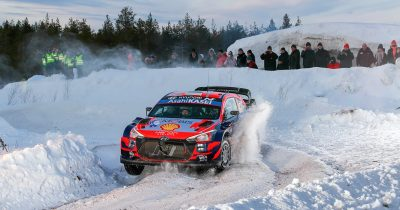 WRC Arctic Rally Finland 2021