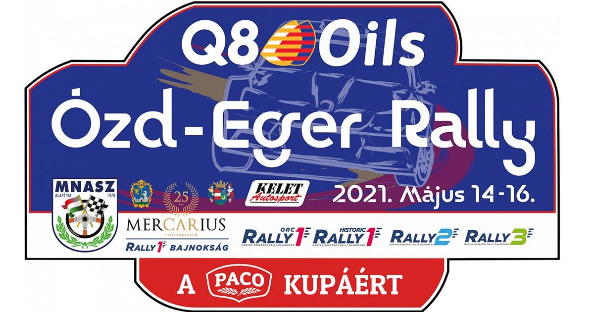 Eger-Ózd Rally 2021