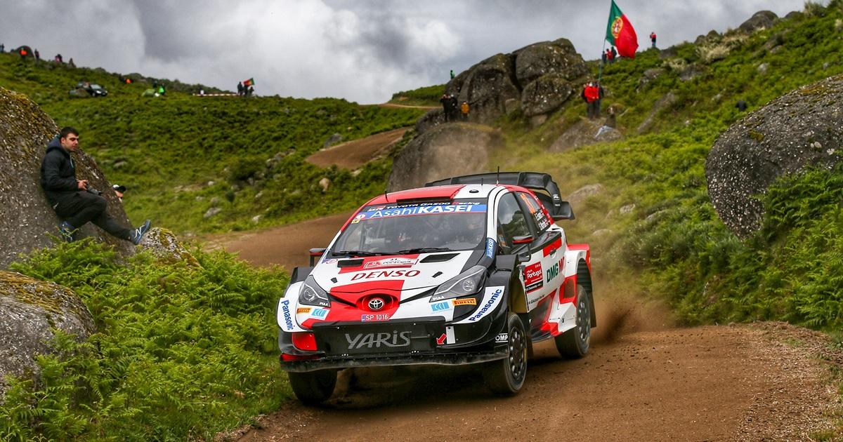 Elfyn Evans Portugál Rally 2021