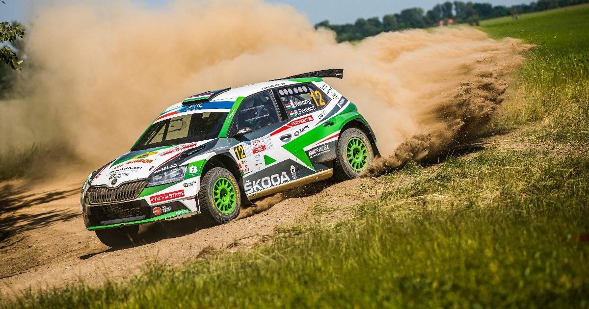 SRTH ERC Lengyel Rally 2021