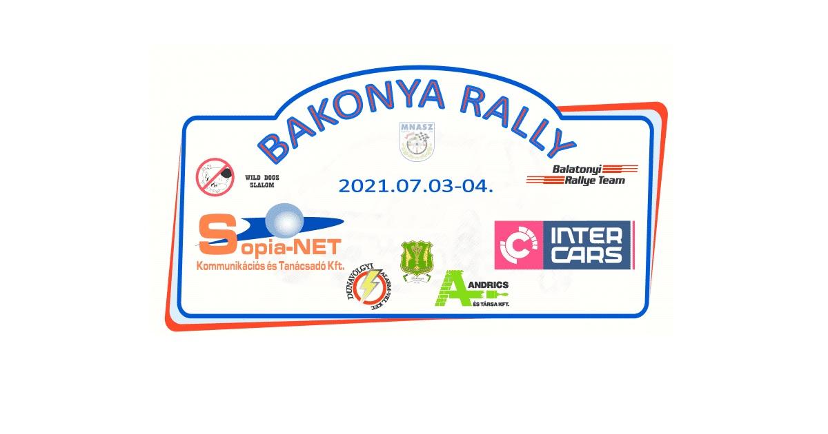 Bakonya Rally 2021