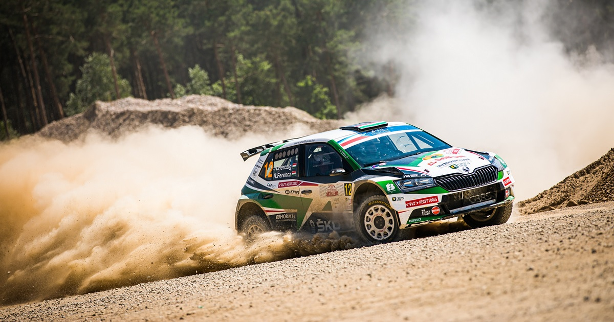 Herczig Norbert ERC Lengyel Rally 2021