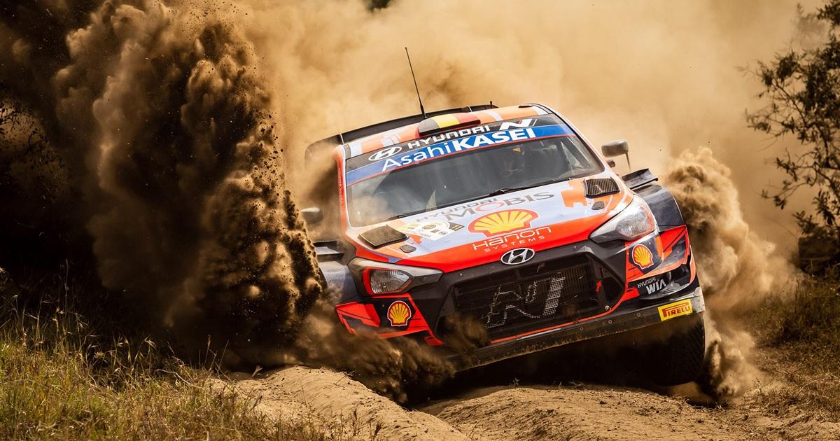 Neuville Szafari Rally