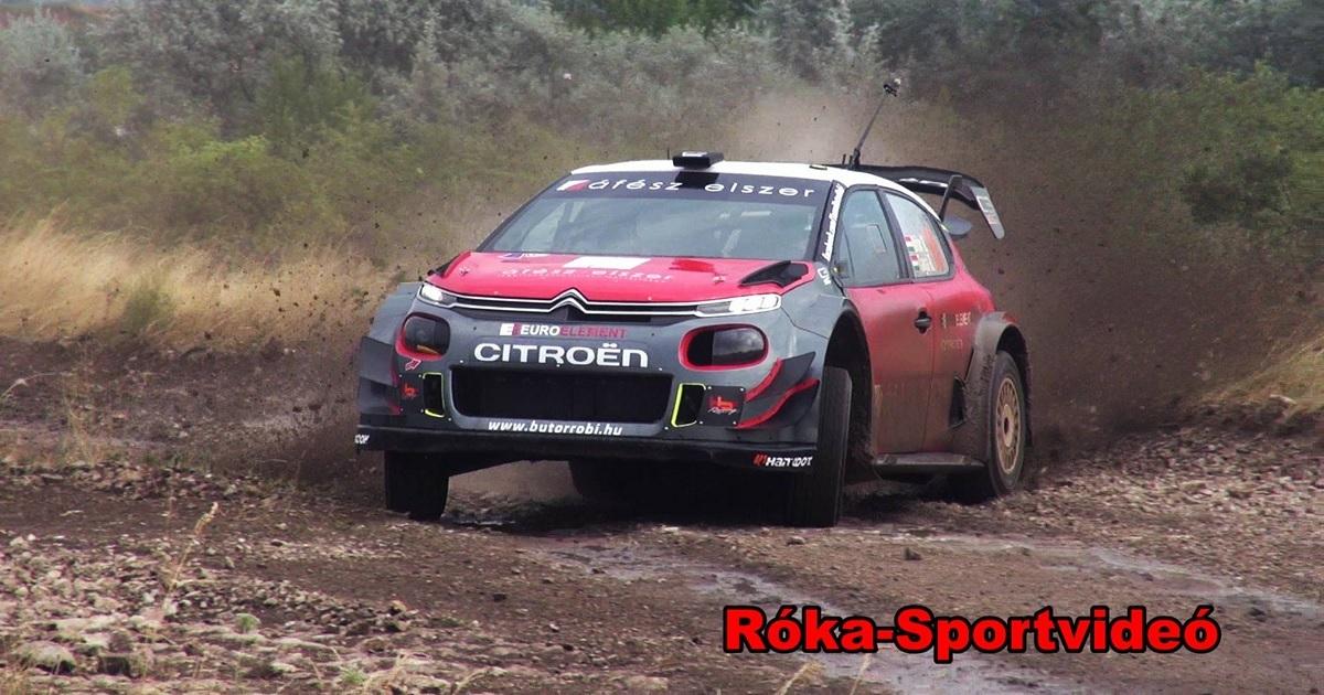 Bútor Robi Citroen C3 WRC murva teszt