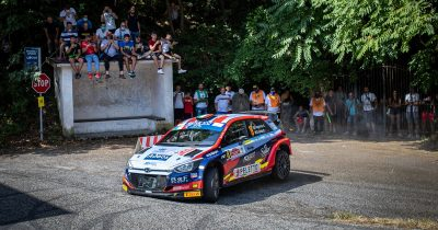 Andrea Crugnola ERC Rally di Roma Capitale 2021
