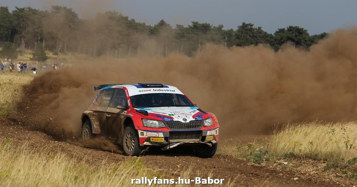 Csomós Miklós Székesfehérvár-Veszprém Rally 2021