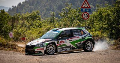 Herczig Norbert-Ferencz Ramón ERC Rally di Roma Capitale 2021
