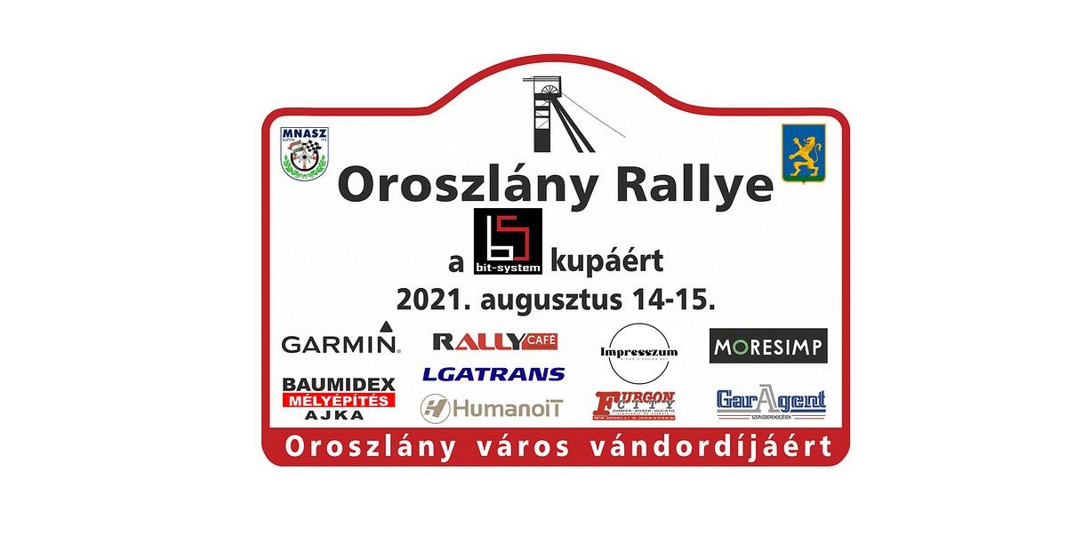 Oroszlány Rally 2021