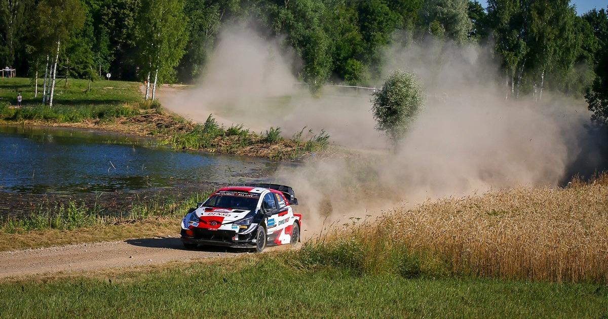 Kalle Rovanpera WRC Észt Rally