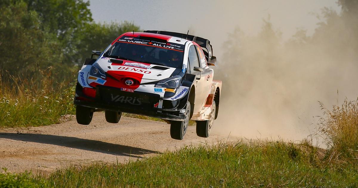 Észt Rally 2021 shakedown