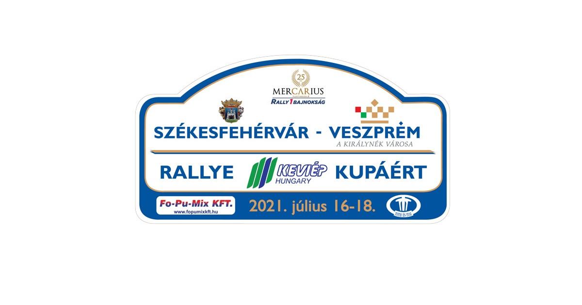 Székesfehérvár-Veszprém Rally 2021
