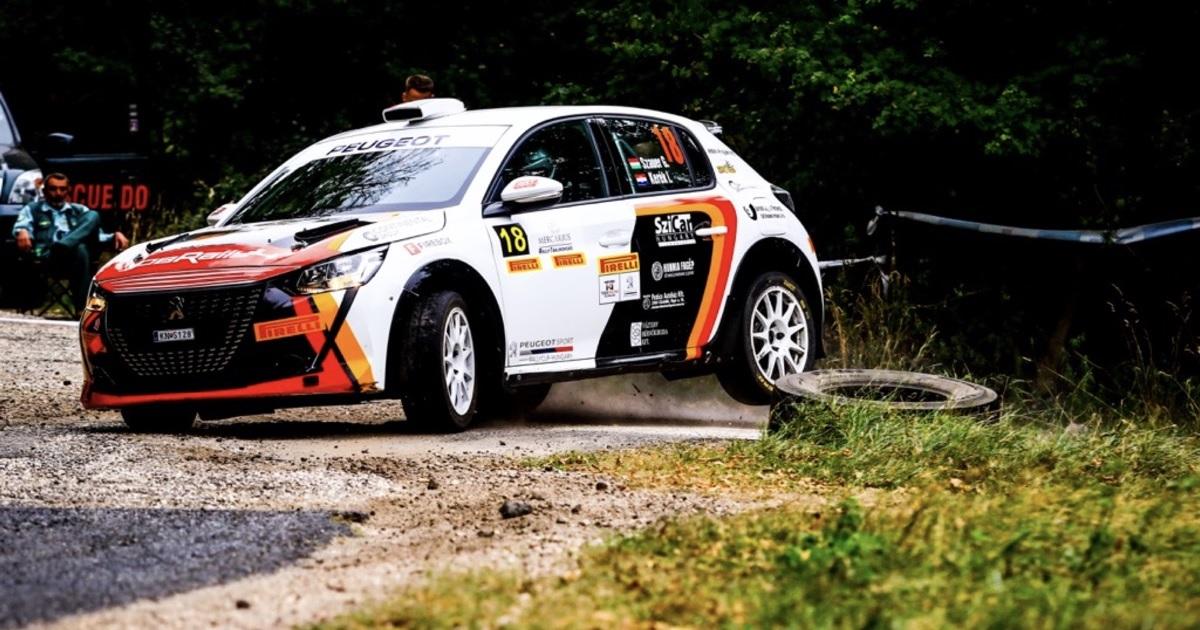 Szauer Gergő Vértes Rallye 2021