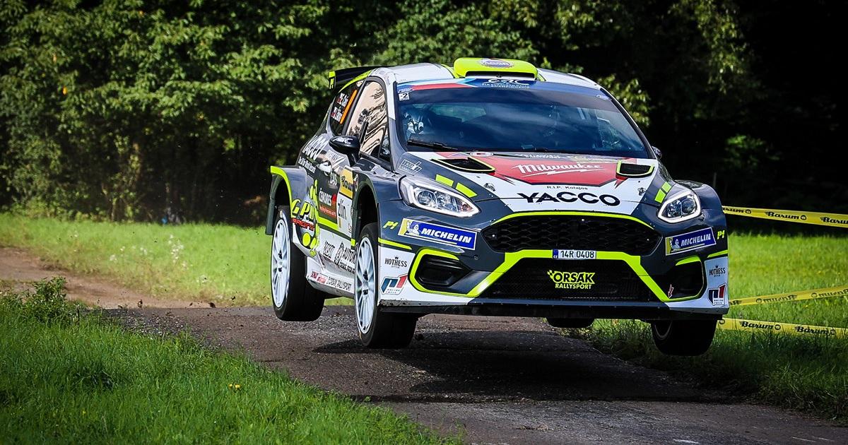 Erik Cais ERC Barum Rally 2021