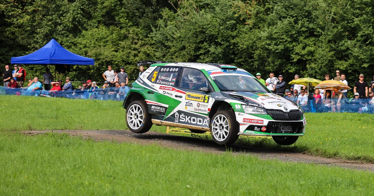 Herczig Norbert-Ferencz Ramón ERC barum Rally 2021