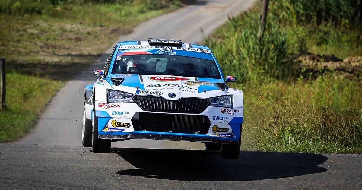 Jan Kopecky Barum Rally 2021
