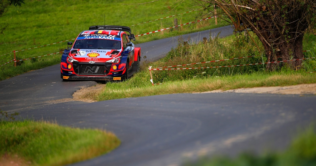 WRC Ypres Rally 2021 Thierry Neuville