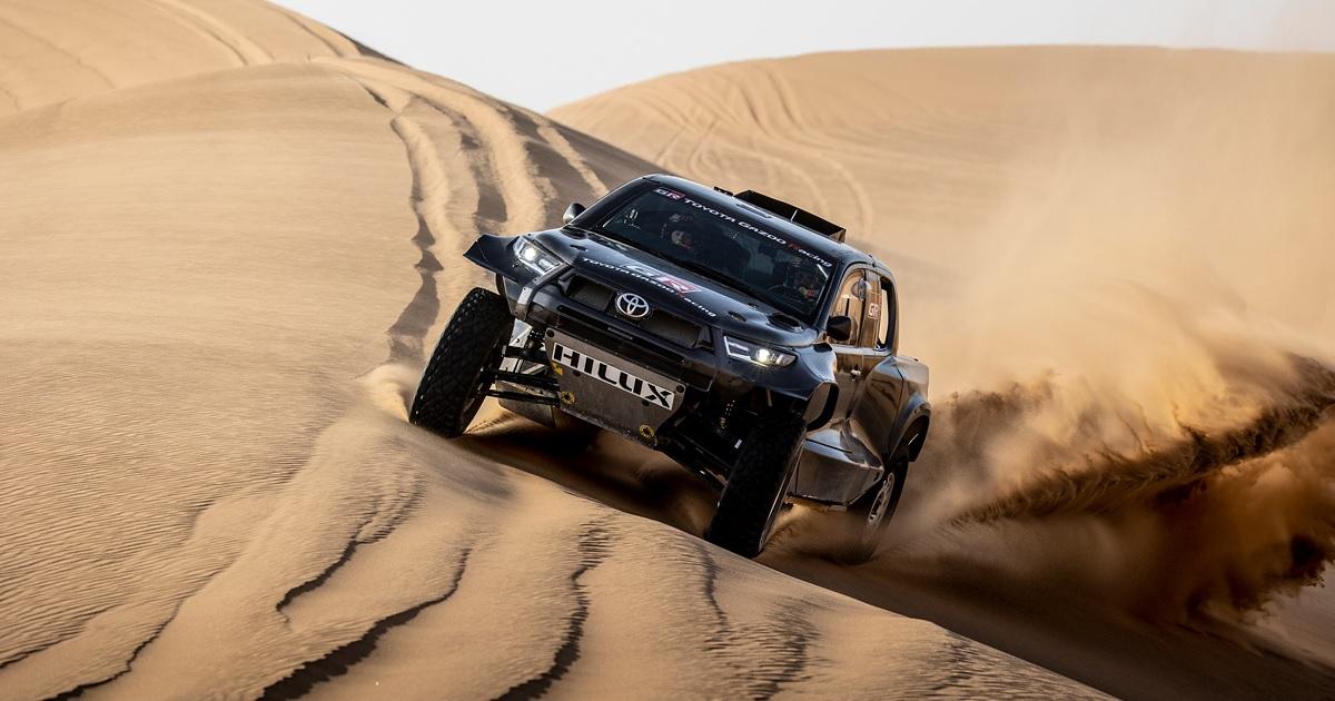 Toyota GR DKR Hilux T1