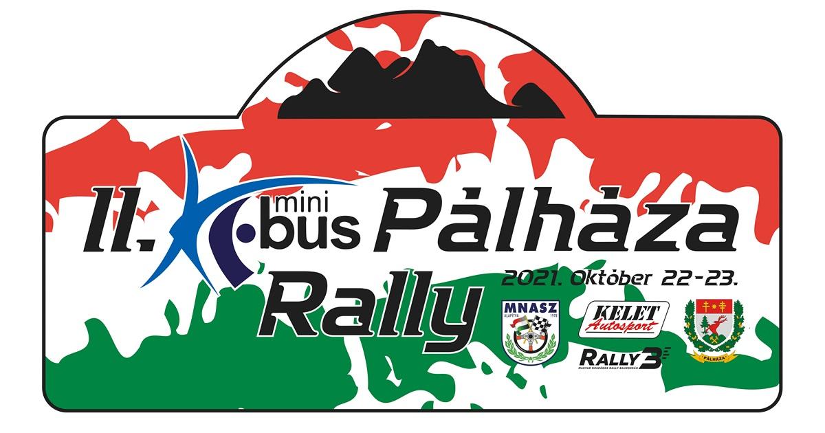 II. Pálháza Rally 2021