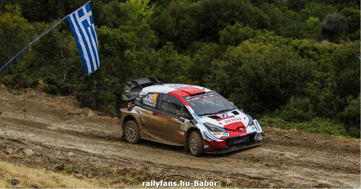 Kalle Rovanpera WRC Acropolis Rally 2021