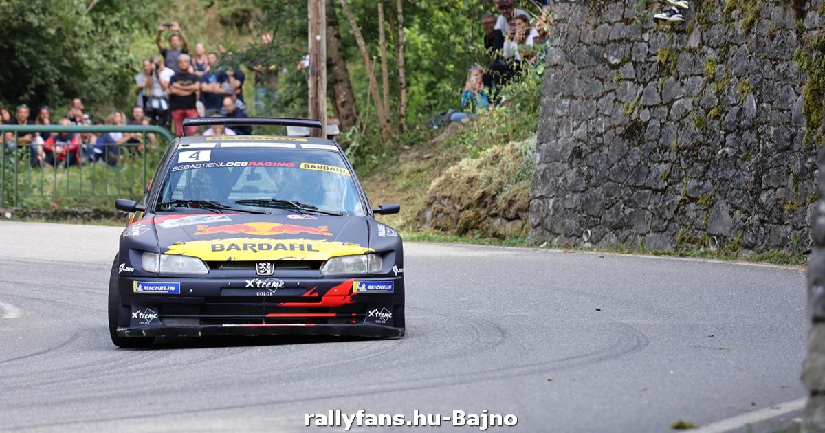 Rallye Mont-Blanc Morzine 2021 Sébastien Loeb-Daniel Elena