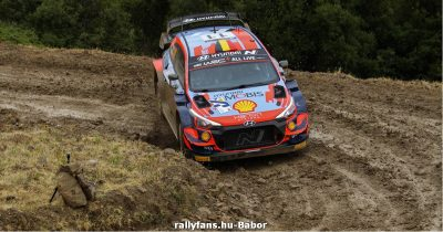WRC Akropolisz Rally 2021 Shakedown