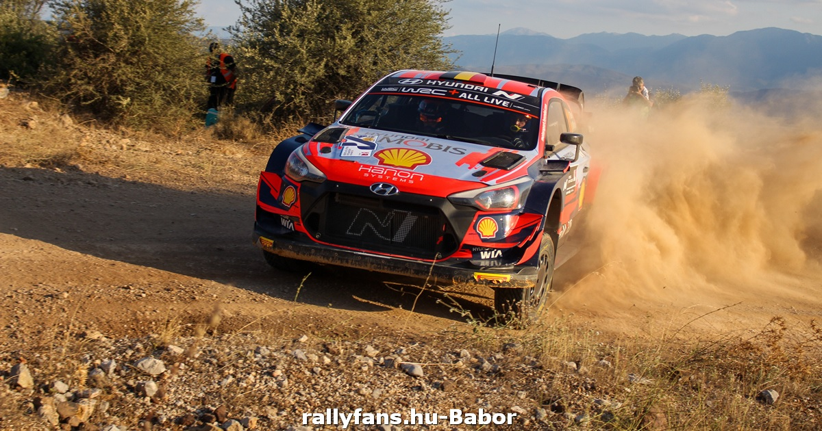 WRC Akropolisz Rally 2021