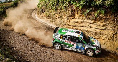 Herczig Norbert (Skoda) ERC Azori-szigetek Rally 2021