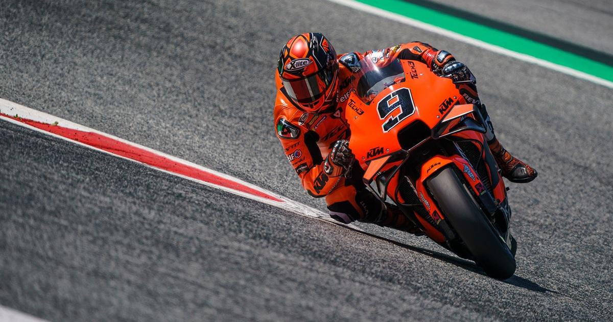 Danilo Petrucci KTM MotoGP