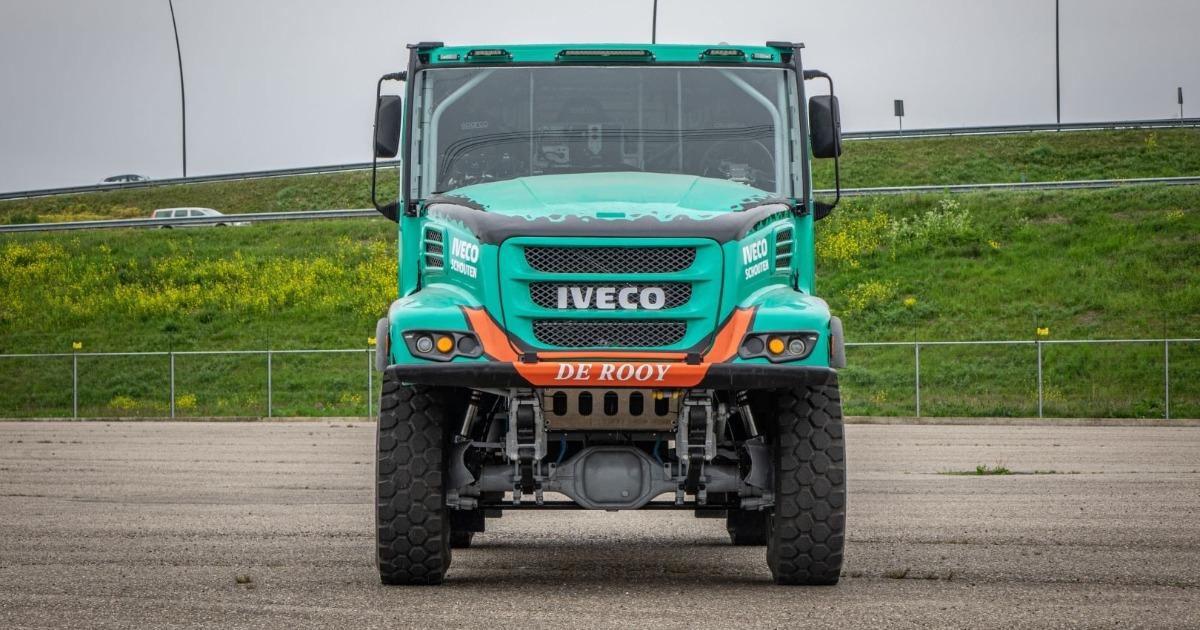 Team De Rooy Dakar Rally 2022