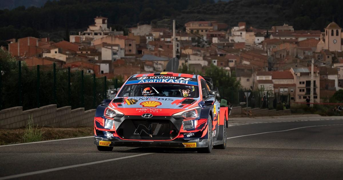 Hyundai i20 WRC Spanyol Rally 2021