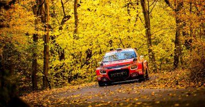 Rally Hungary 2021 Mads Ostberg