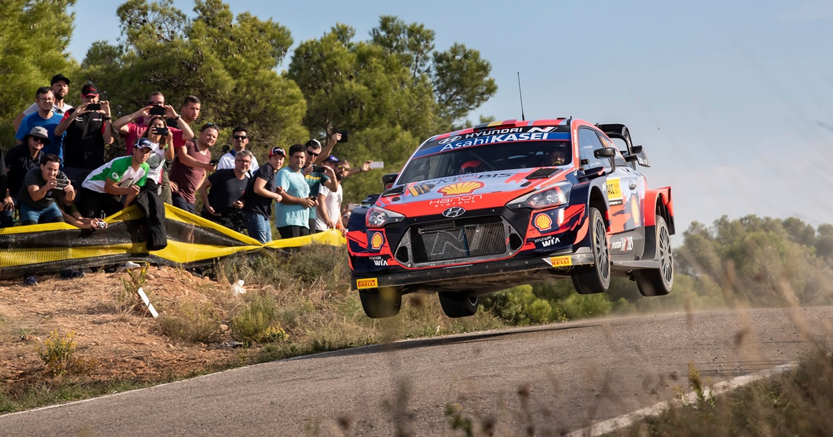 Thierry Neuville WRC Spanyol Rally 2021